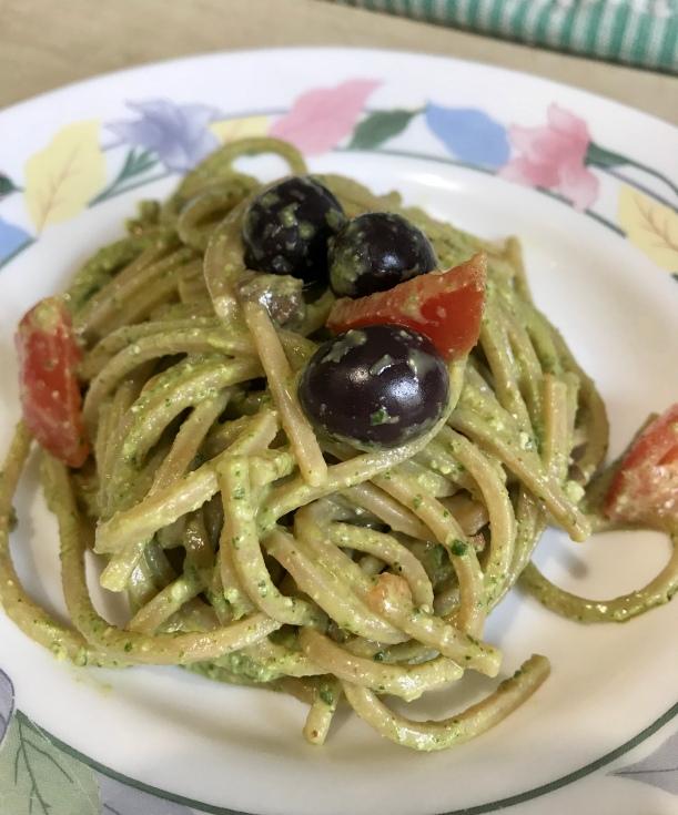 Pesto di rucola_pasta